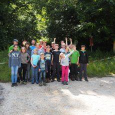 JuKis, Familien- und Alpingruppe zusammen  im Ith – Ein voller Erfolg
