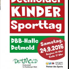4. Detmolder Kindersporttag im DBB Sportzentrum