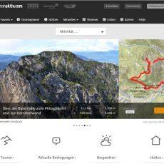 Alpenvereinaktiv.com – Wanderrouten und Topos – das Portal für Wandern und Klettern
