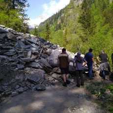 Detmolder Grat – Zufahrtsstraße Gößgraben